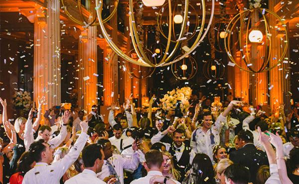 Wedding Reception Entertainment Ideas - Confetti Drop