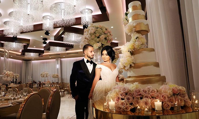 Metropol Banquet Halls for Intimate Wedding Venues