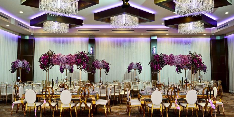 Metropol Banquet Hall - Quinceañera Venue - Millennium Ballroom