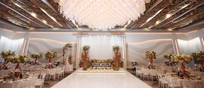 Metropol Banquet Hall - Special Occasions Venue - Modern Ballroom