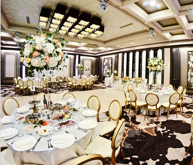 Metropol Banquet Hall - Crystal Ballroom Amenities