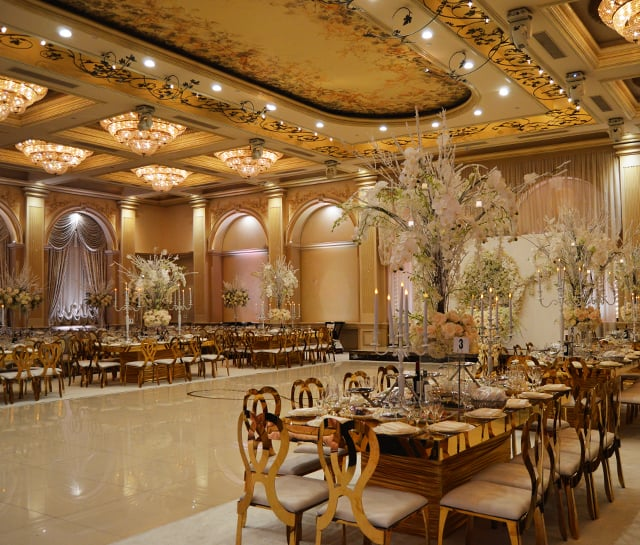 Metropol Banquet Hall - Grand Ballroom Amenities