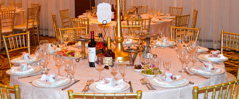 Metropol Banquet Hall - Millennium Ballroom - Dining Options