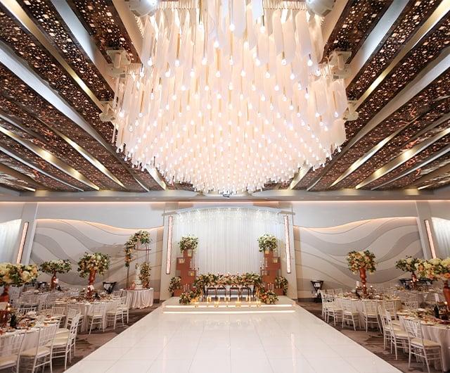 Metropol Banquet Hall - Modern Ballroom Amenities