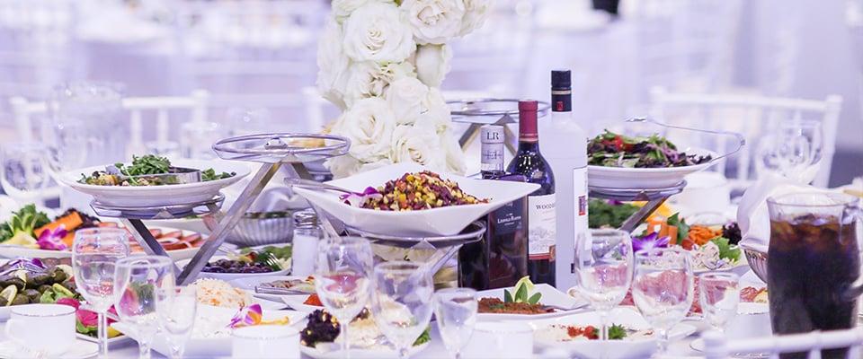 Metropol Banquet Hall - Modern Ballroom - Dining Options