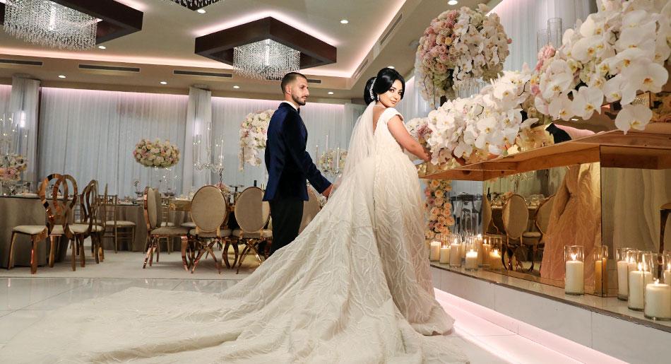Small Wedding at Metropol Banquet Hall