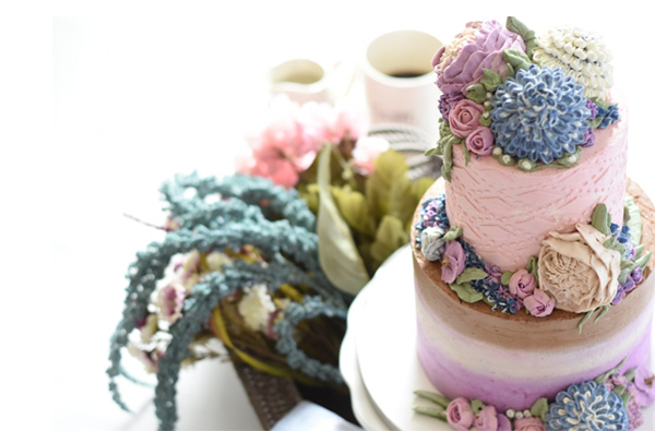 Wedding Reception Food Serving Styles - Wedding Cake And Appetizers