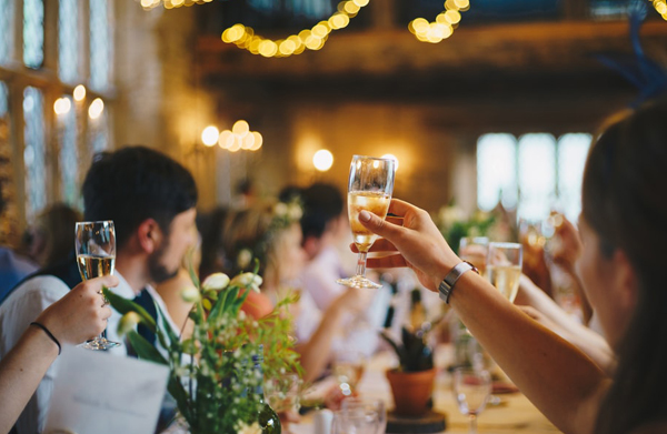 Wedding Toasts At Reception